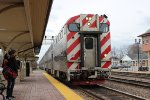 Inbound Metra at Western Springs