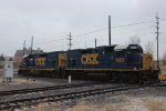 CSX GP15Ts at Dolton Junction