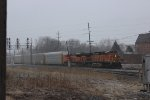 BNSF Autorack Train at Dolton Junction