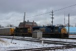CSX Autorack Train at Dolton Junction