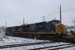 CSX Intermodal Train at Dolton Junction