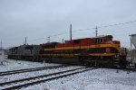 Kansas City Southern Cement Train at Dolton Junction