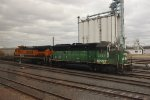 BNSF Heritage Power at Burlington, IA