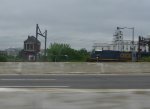 "CSX 740 and ""VIRGINIA"" Tower"