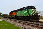 BNSF 2286 and 2035