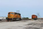 BNSF 8870 and 2570