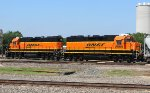 BNSF 2570 and 2555