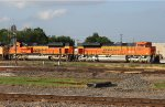 BNSF 8517 and 8995