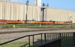 An interesting consist on a southbound BNSF manifest