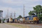 CSXT 3351 On CSX Q 365 Southbound Just Pass NS 216