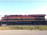 KCSM 4719 (GE ES44AC) Sits in the UP Englewood Yard