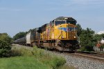 UP 3960 & CSX 821 near the end of their journey with Q326-29