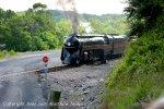 N&W J 611 Arriving Front Royal