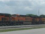 BNSF ES44DC 7481