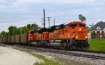 BNSF 8404 and 8597