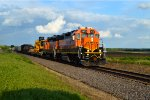 BNSF 2573 and 2902