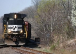 NS Washington Turn H65 With B32-8 Running Long Hood Forward @ 1105 hrs.