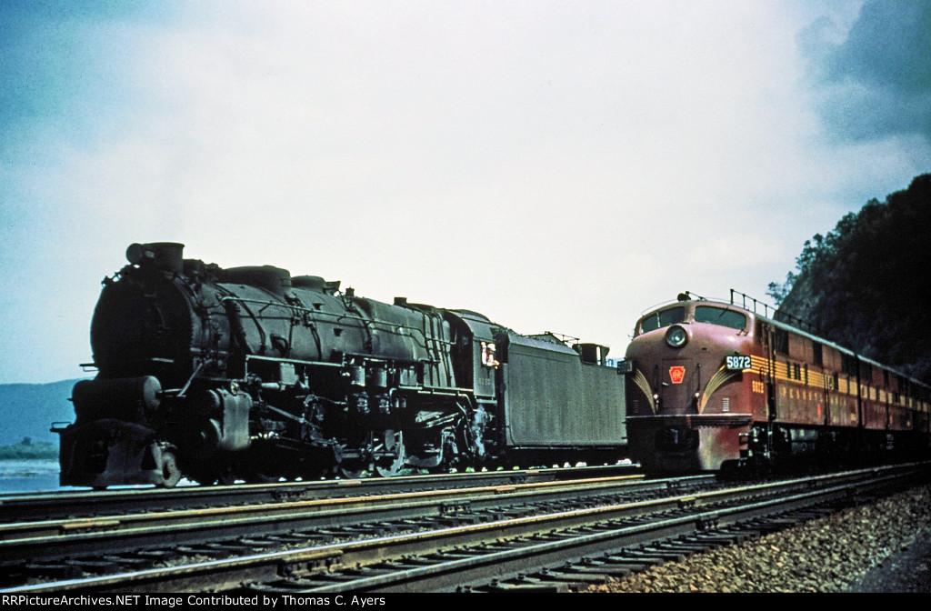PRR 6717, M-1B, c. 1955