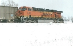 BNSF 5783 a rear DPU unit on a coal train