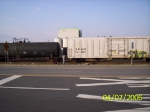 Coupling up to the boxcars