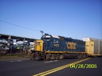 CSX 4425 crossing East Port St.