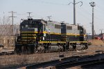 BRC 561 & 560 sit outside the KCBX coal dock
