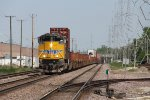 Westbound stacks sit short of Wolf Rd waiting for a pair of Scoots