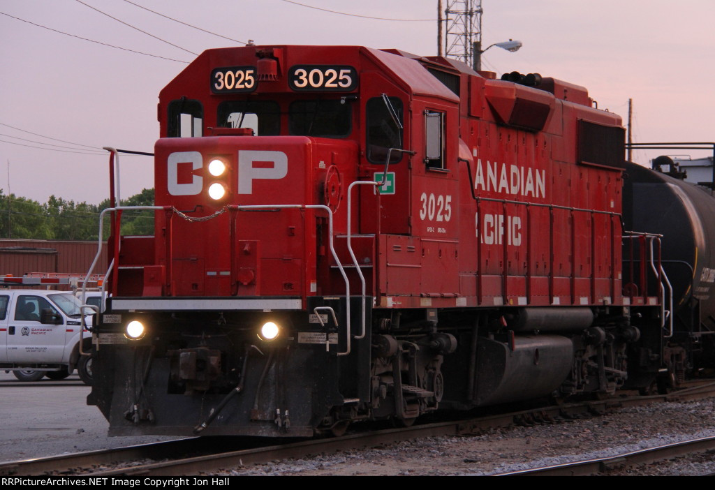 CP 3025