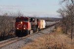 CN 3088 & 3064 roll north with M345