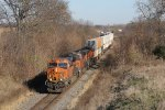 Three GE's roll Z-CHCSSE west only about 100 miles into its westward journey