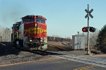 BNSF 539 leading an all-rail through Boylston