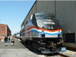 The Amtrak 40th Anniversary Heritage Unit from 2011