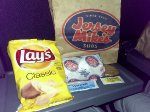 Amtrak provided a complimentary Jersey Mike's brown-bag lunch to all passengers