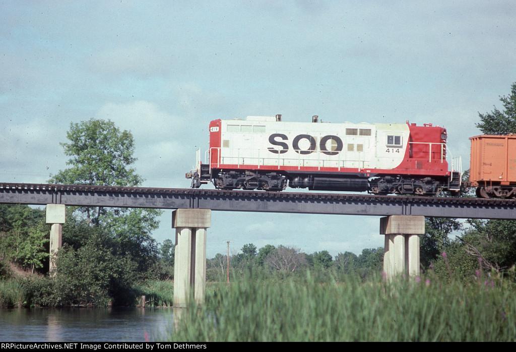 Soo Line Danbury Turn