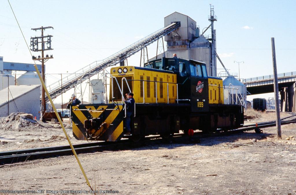 CNW yard engine