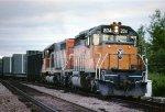Milwaukee Road meeting Amtrak 10