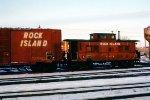 Rock Island caboose