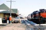 CMN depot and passenger car