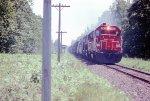 Soo Line northbound manifest train near Solon Springs, WI