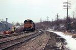 Westbound Sprint train
