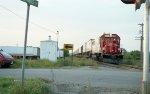Soo Line Sprint train eastbound east of Newport.