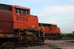 BNSF 8793 and 9321