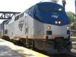 Amtrak P42DC 10 at Fullerton RR Days