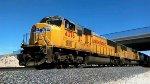 UP 4376 passes CP Lancaster