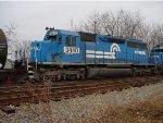 ex-conrail sd40-2 6984 ex-PC 6252