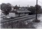 1891 Baldwin type station.  Photo taken in the 60's