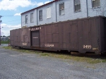 This old Pullman car lives in an alley now