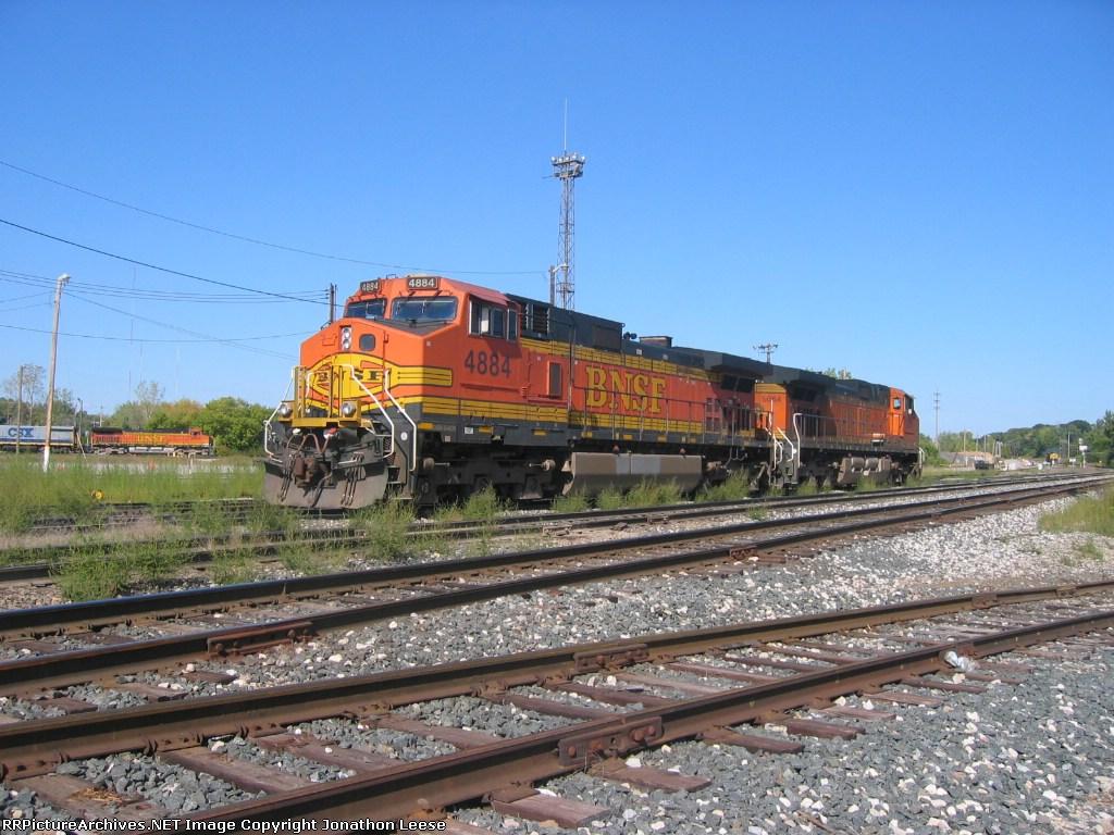 D801 heading west