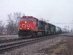 CN 2604, IC 6060 & BNSF 7837 Leading 399