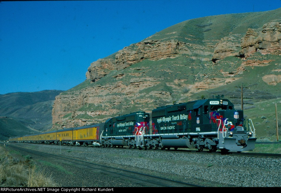 Union Pacific 1996 Olympic Torch Relay
